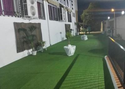 jardines de noche bodas hostal del sol