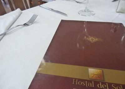 restaurante hostal del sol villa del rio